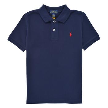 Kleidung Jungen Polohemden Polo Ralph Lauren TUSSA Marine