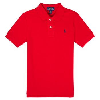 Kleidung Jungen Polohemden Polo Ralph Lauren MENCHI Rot