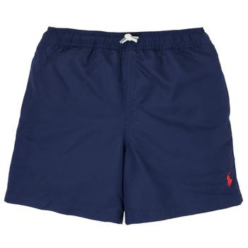 Kleidung Jungen Badeanzug /Badeshorts Polo Ralph Lauren SOLAL Marine