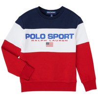 Kleidung Jungen Sweatshirts Polo Ralph Lauren TRINITA Multicolor