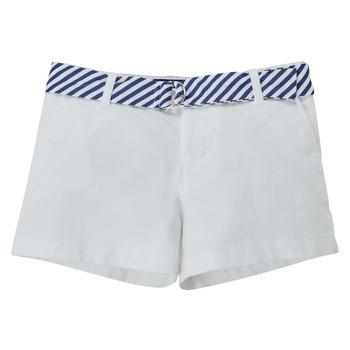 Kleidung Mädchen Shorts / Bermudas Polo Ralph Lauren FILLI Weiss