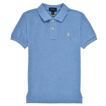 Kleidung Jungen Polohemden Polo Ralph Lauren BLEUNI Blau