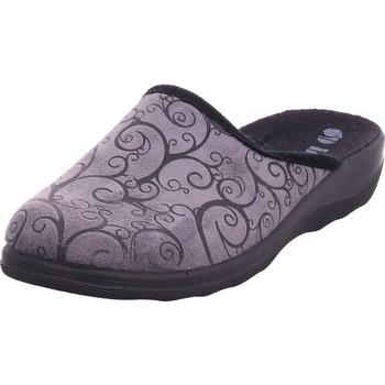 Schuhe Damen Pantoffel Bold - CAS1T798 schwarz/grau