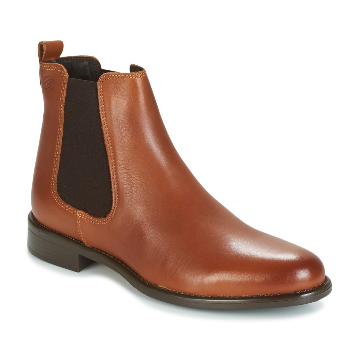 Betty London NORA Camel - Kostenloser Versand bei Spartoode ! - Schuhe Boots Damen 63,99 €