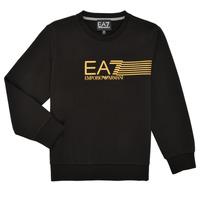 Kleidung Jungen Sweatshirts Emporio Armani EA7 3KBM55-BJ05Z-1200 Schwarz