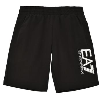 Kleidung Jungen Shorts / Bermudas Emporio Armani EA7 3KBS52-BJ05Z-1200 Schwarz
