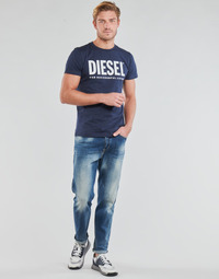 Kleidung Herren Straight Leg Jeans Diesel D-FINNING Blau