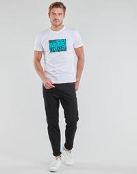 Kleidung Herren Straight Leg Jeans Diesel D-FINNING Schwarz