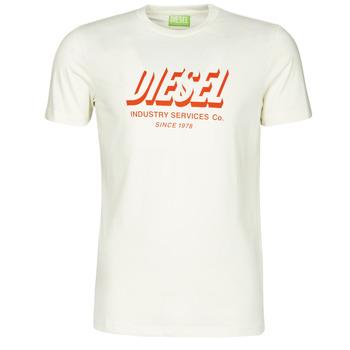 Kleidung Herren T-Shirts Diesel A01849-0GRAM-129 Weiss