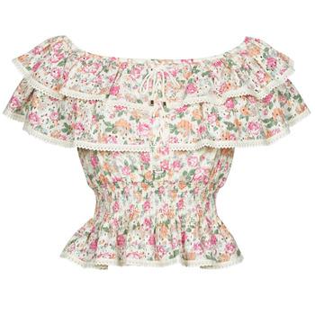 Kleidung Damen Tops / Blusen Guess SS NEW ISOTTA TOP Rose