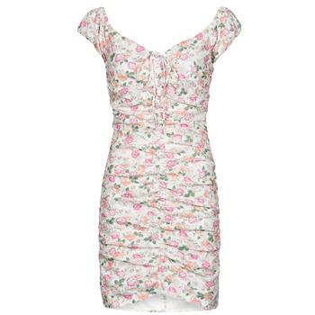 Kleidung Damen Kurze Kleider Guess INGRID DRESS Rose