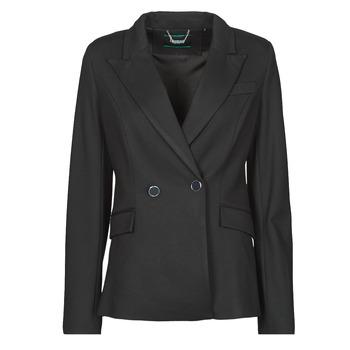 Kleidung Damen Jacken / Blazers Guess MICAELA BLAZER Schwarz