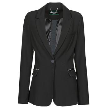Kleidung Damen Jacken / Blazers Guess SELENE BLAZER Schwarz