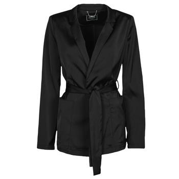 Kleidung Damen Jacken / Blazers Guess DIMITRA BLAZER Schwarz