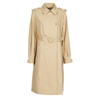 Kleidung Damen Trenchcoats Guess PEGGY TRENCH Beige