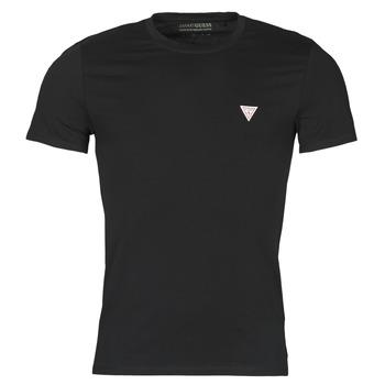Kleidung Herren T-Shirts Guess CN SS CORE TEE Schwarz