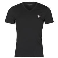 Kleidung Herren T-Shirts Guess VN SS CORE TEE Schwarz