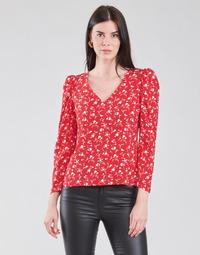 Kleidung Damen Tops / Blusen Naf Naf COLINE C1 Rot