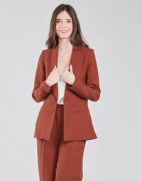 Kleidung Damen Jacken / Blazers Naf Naf LINONOU V2 Braun