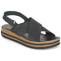 Schuhe Damen Sandalen / Sandaletten Think ZEGA Schwarz