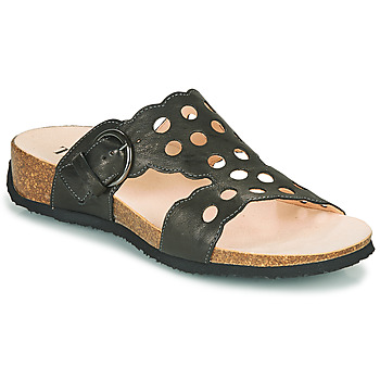 Schuhe Damen Pantoffel Think MIZZI Schwarz