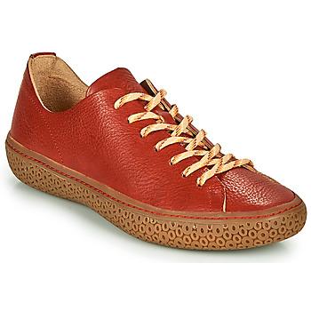 Schuhe Damen Sneaker Low Think TJUB Rot