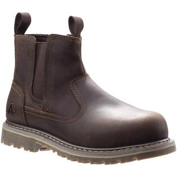 Schuhe Damen Sicherheitsschuh Amblers Safety  Braun