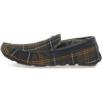 Schuhe Herren Slipper Barbour MSL0001 TN12 Halbschuhe Mann GRÜN GRÜN