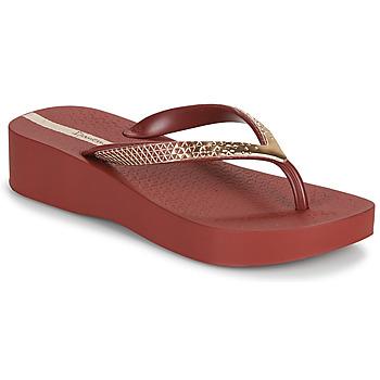 Schuhe Damen Zehensandalen Ipanema IPANEMA MESH VI PLAT FEM Bordeaux