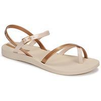 Schuhe Damen Sandalen / Sandaletten Ipanema Ipanema Fashion Sandal VIII Fem Beige / Gold
