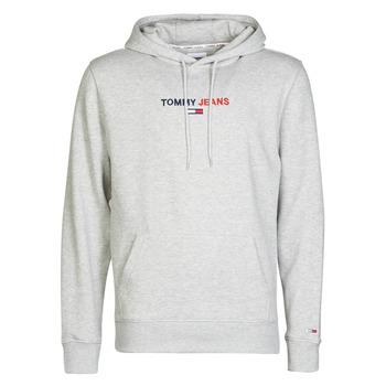 Kleidung Herren Sweatshirts Tommy Jeans TJM LINEAR LOGO HOODIE Grau