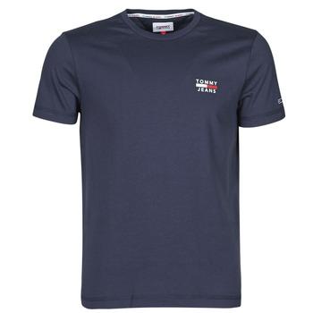 Kleidung Herren T-Shirts Tommy Jeans TJM CHEST LOGO TEE Marine