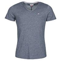 Kleidung Herren T-Shirts Tommy Jeans TJM SLIM JASPE V NECK Marine
