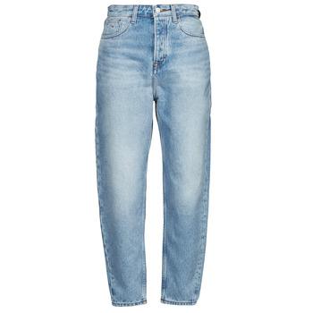 Kleidung Damen Boyfriend Jeans Tommy Jeans MOM JEAN ULTRA HR TPRD EMF SPLBR Blau