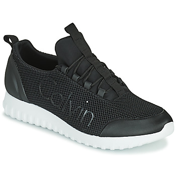 Schuhe Herren Sneaker Low Calvin Klein Jeans RUNNER SNEAKER LACEUP MESH Schwarz