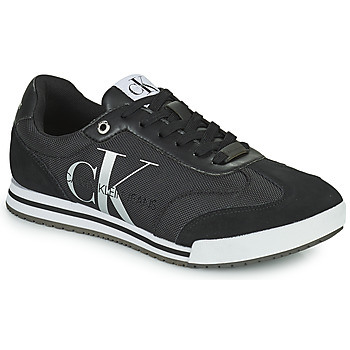 Schuhe Herren Sneaker Low Calvin Klein Jeans LOW PROFILE SNEAKER LACEUP PES Schwarz