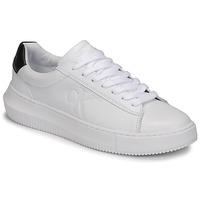 Schuhe Damen Sneaker Low Calvin Klein Jeans CHUNKY SOLE SNEAKER LACEUP LTH Weiss
