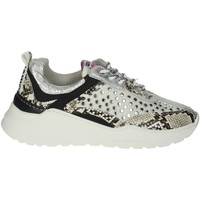 Schuhe Damen Sneaker Low Meline 532  Cremeweiß