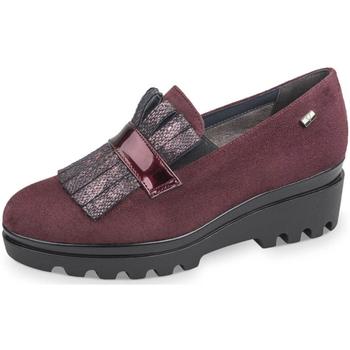 Schuhe Damen Slipper Valleverde - Mocassino bordeaux 45124 BORDEAUX
