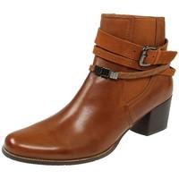 Schuhe Damen Low Boots Regarde Le Ciel Stiefeletten Isabel-26-5280 braun
