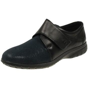 Schuhe Damen Derby-Schuhe Fischer Schuhe Slipper 18103 18103-222-Doris schwarz