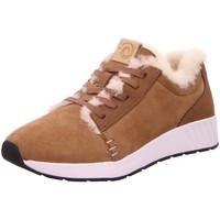Schuhe Damen Sneaker Low Bnsm Schnuerschuhe 100-110 Ms. SNUG Low braun