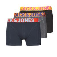 Unterwäsche Herren Boxer Jack & Jones JACCRAZY X3 Schwarz / Blau / Grau