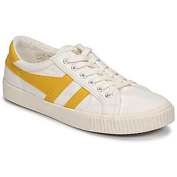 Schuhe Damen Sneaker Low Gola TENNIS MARK COX Beige / Gelb