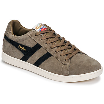 Schuhe Herren Sneaker Low Gola EQUIPE SUEDE Beige / Marine