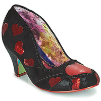 Schuhe Damen Pumps Irregular Choice HEART ON YOUR SLEEVE Schwarz