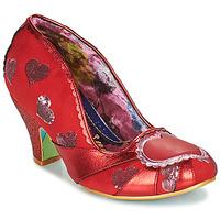 Schuhe Damen Pumps Irregular Choice HEART ON YOUR SLEEVE Rot