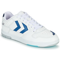 Schuhe Herren Sneaker Low Hummel POWER PLAY Weiss / Blau