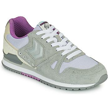 Schuhe Damen Sneaker Low Hummel MARATHONA SUEDE Grau / Violett