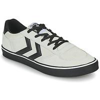 Schuhe Herren Sneaker Low Hummel STADIL 3.0 SUEDE Beige / Schwarz